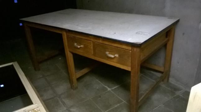 Schminktafel Te Koop.Te Koop Werktafel Atelier Winkel Vintage Veiling